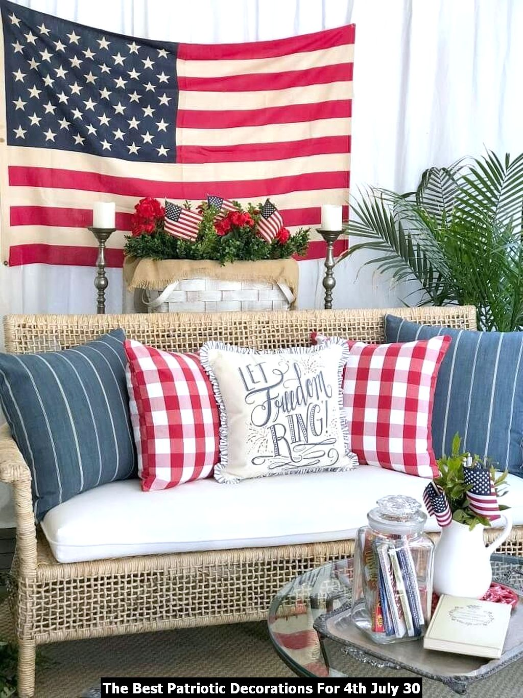 The Best Patriotic Decorations For 4th July 30