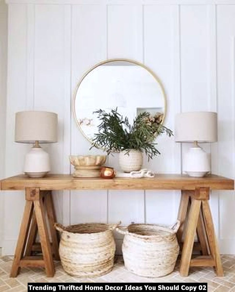 Trending Thrifted Home Decor Ideas You Should Copy 02