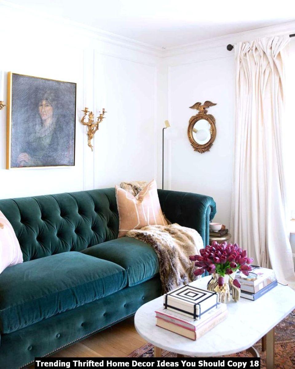 Trending Thrifted Home Decor Ideas You Should Copy 18