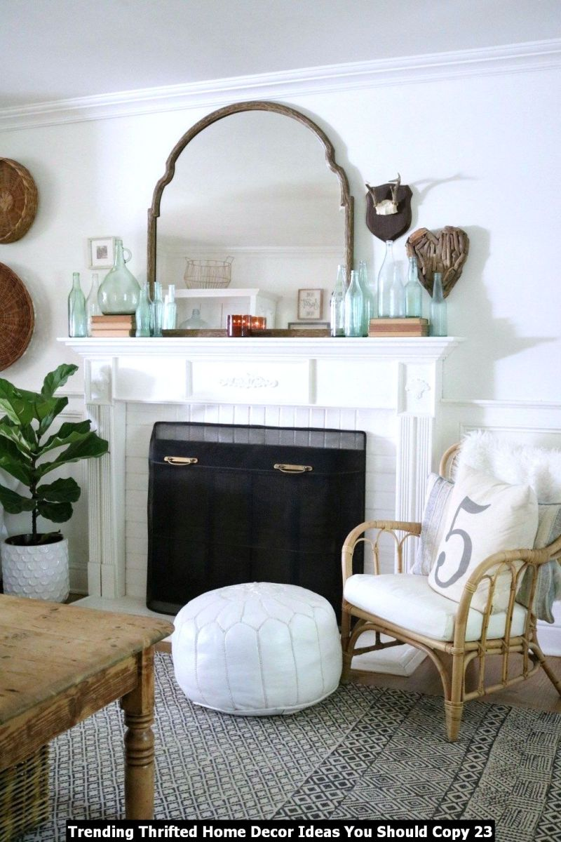 Trending Thrifted Home Decor Ideas You Should Copy 23