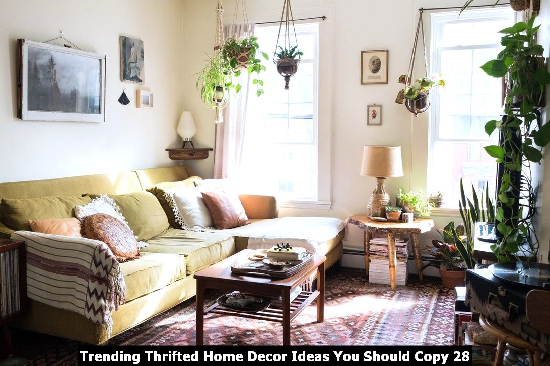 Trending Thrifted Home Decor Ideas You Should Copy 28