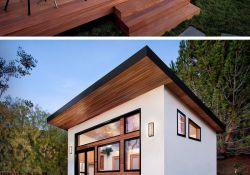 Backyard Guest House With Bathroom