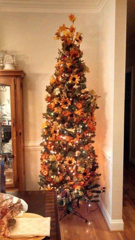 Fall Christmas Tree Decorations