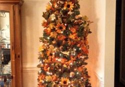 Fall Christmas Tree Decorations