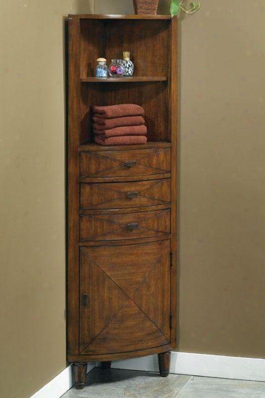 Small Corner Bathroom Cabinet