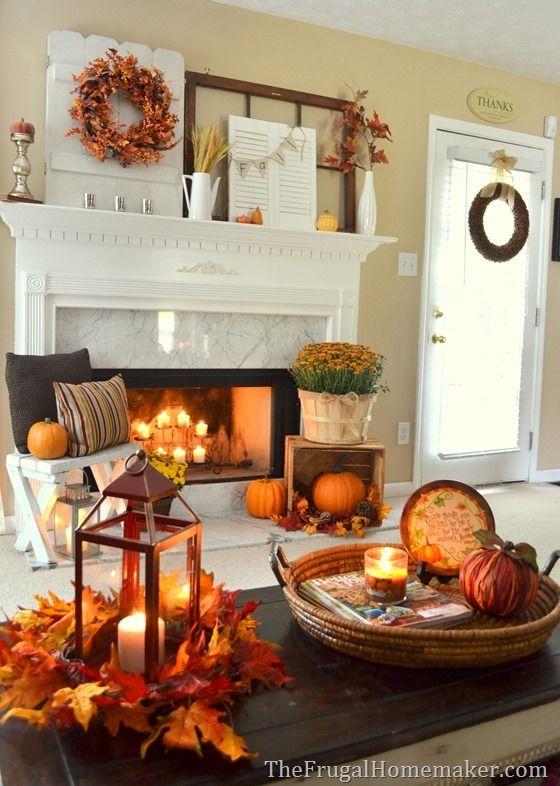 Cozy Fall Decorating Ideas