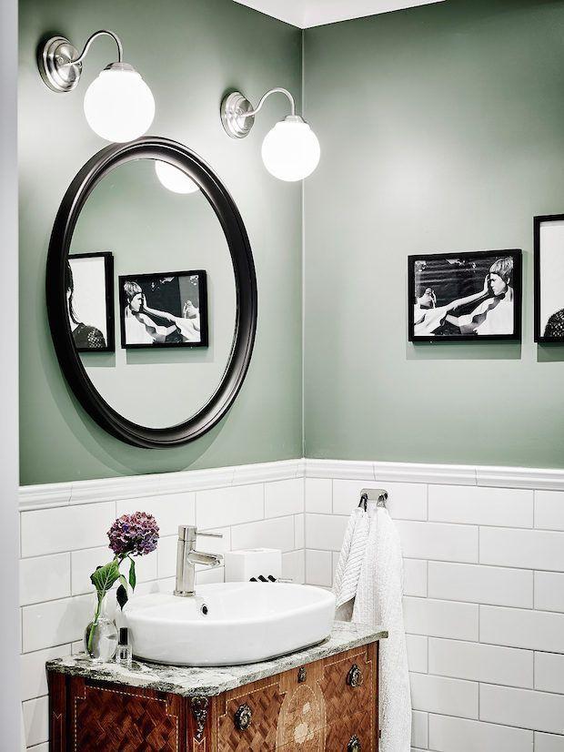 Sage Green Bathroom