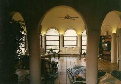 Cape Romano Dome House Interior