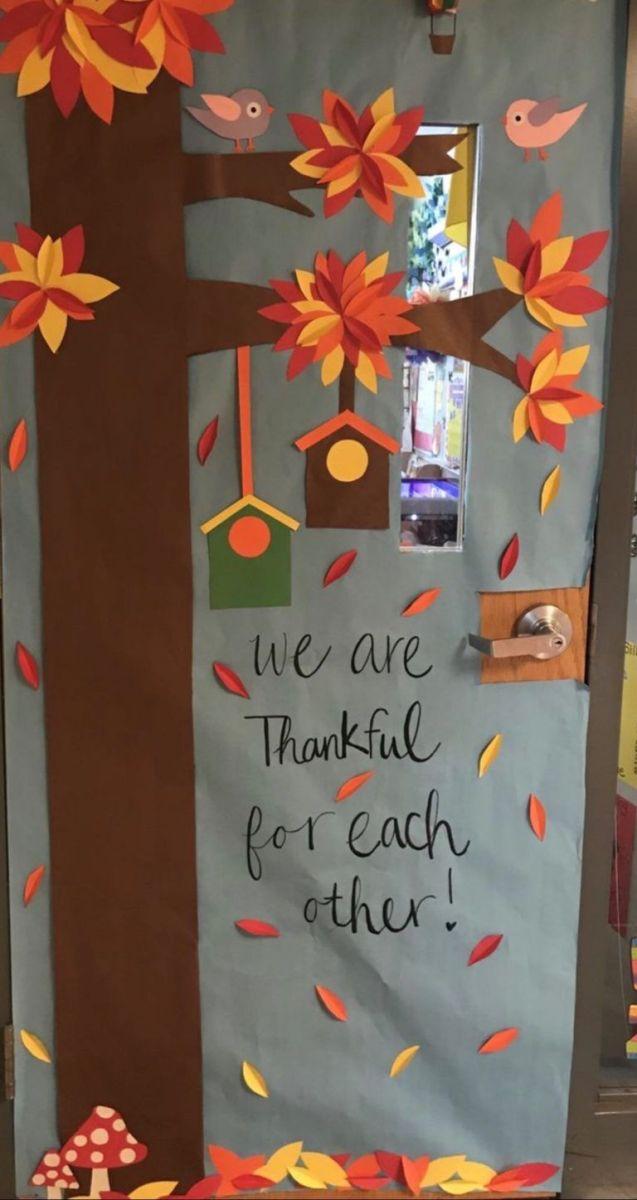 Fall Classroom Door Decorating Ideas