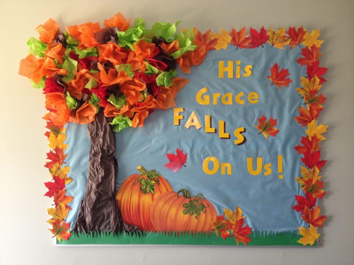 October Fall Bulletin Board Decorations