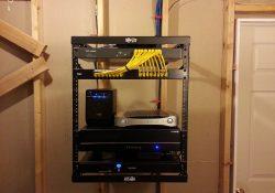 DIY Home Network Rack