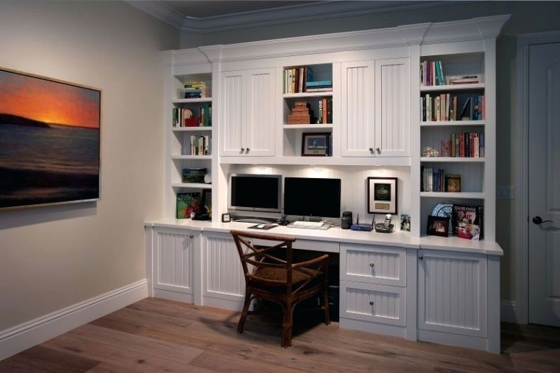 Home Office Wall Units With Desk