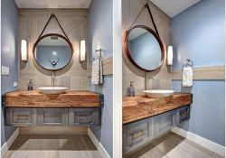 Nautical Bathroom Mirror