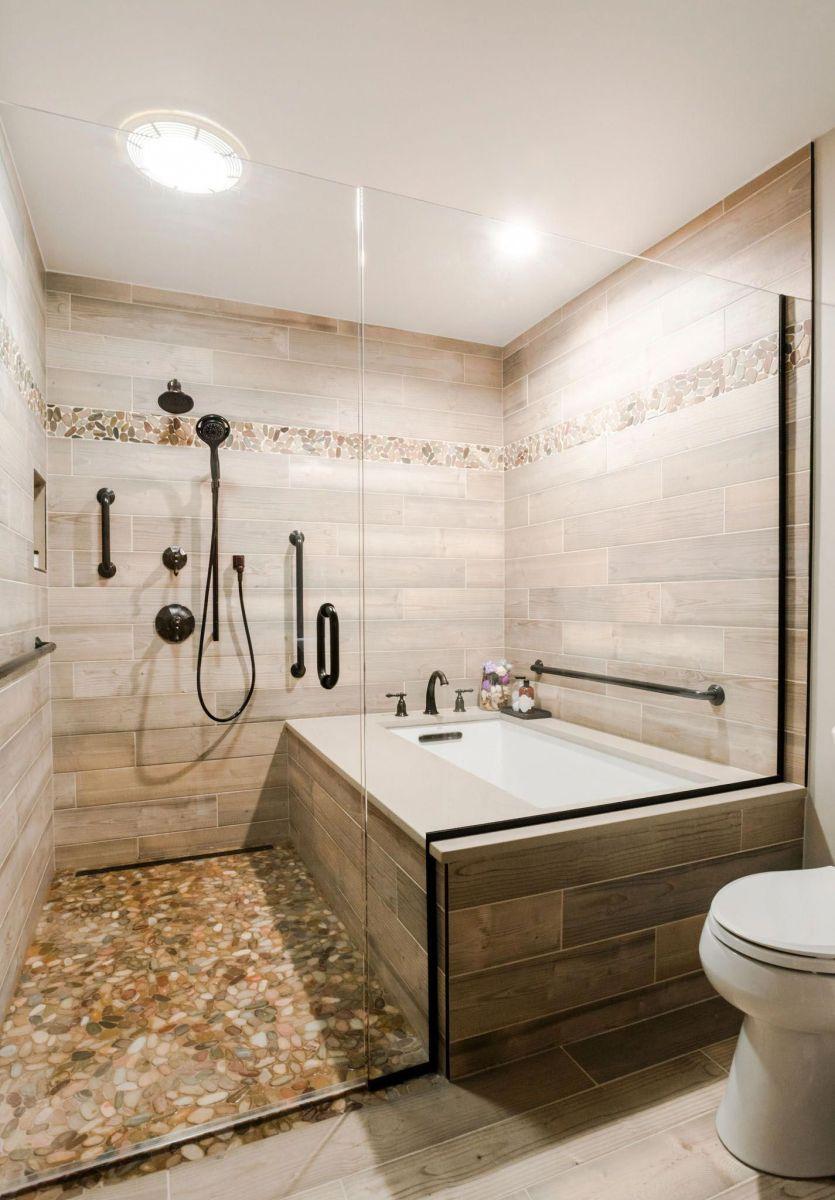 Master Bathroom Walk In Shower Ideas