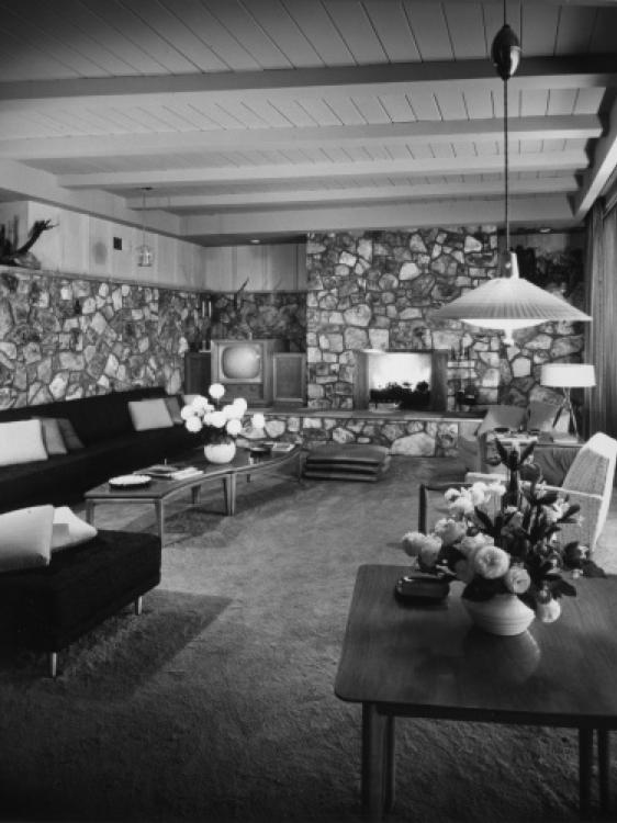 Lucille Ball House Interior