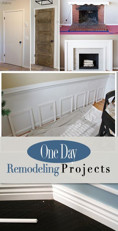 One Day DIY Home Projects