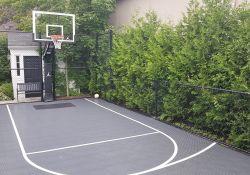 Small Backyard Basketball Court