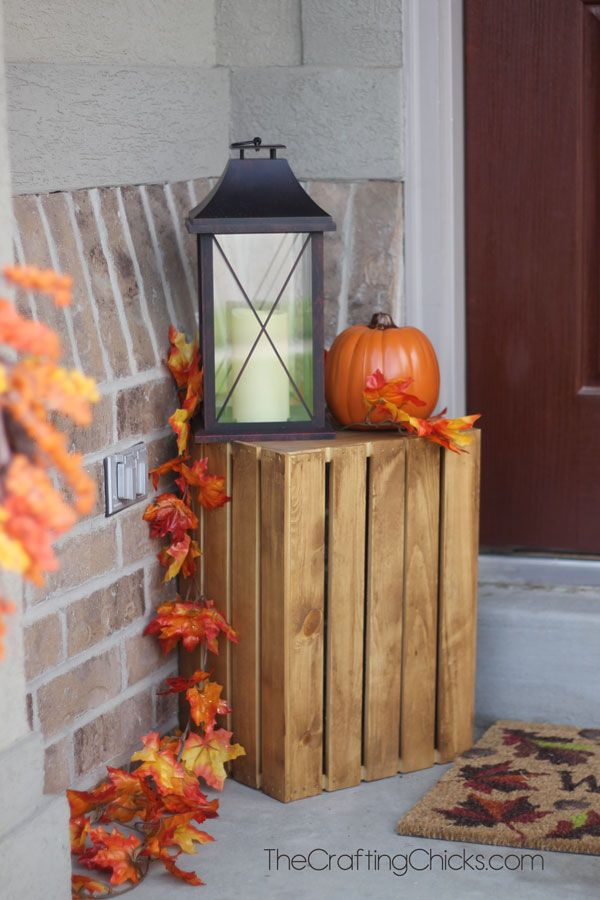 Fall Decor For Small Front Porch