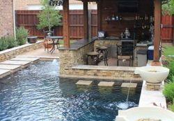 Small Backyard Pool And Patio Ideas