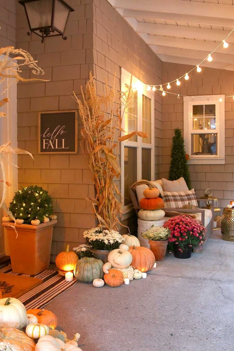 Pictures Of Fall Decorations