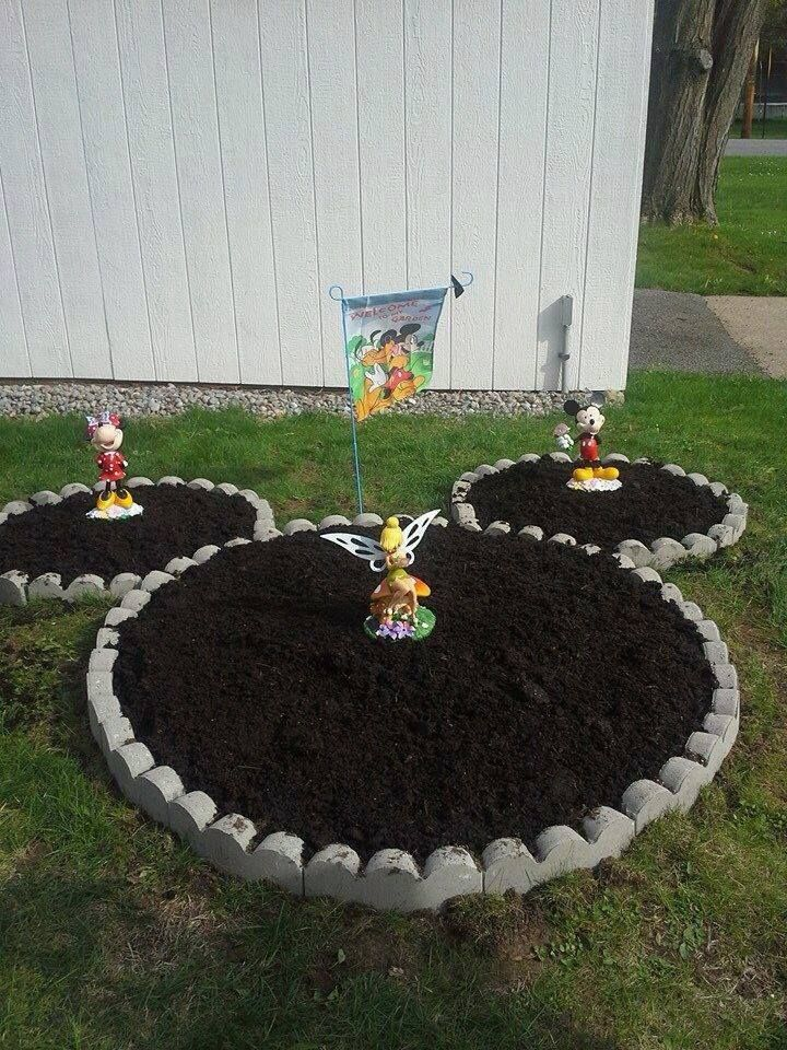 Mickey Mouse Garden Decor