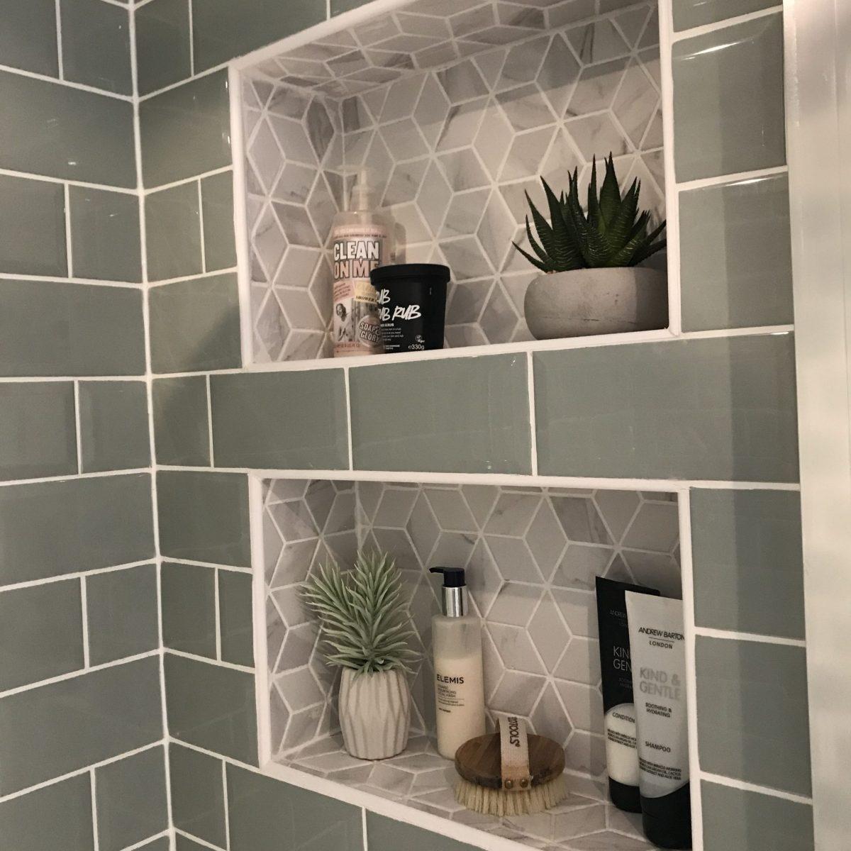 Bathroom Shower Shelves