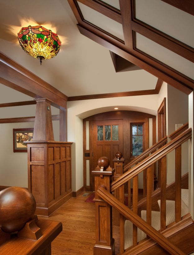 Craftsman Style Home Interior