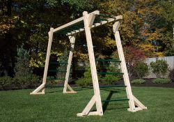 Stand Alone Monkey Bars For Backyard