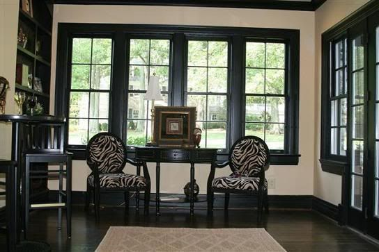 Black Trim House Interior