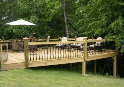 Sloped Backyard Deck Ideas