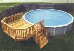 Do It Yourself Above Ground Swimming Pool Decks Plans