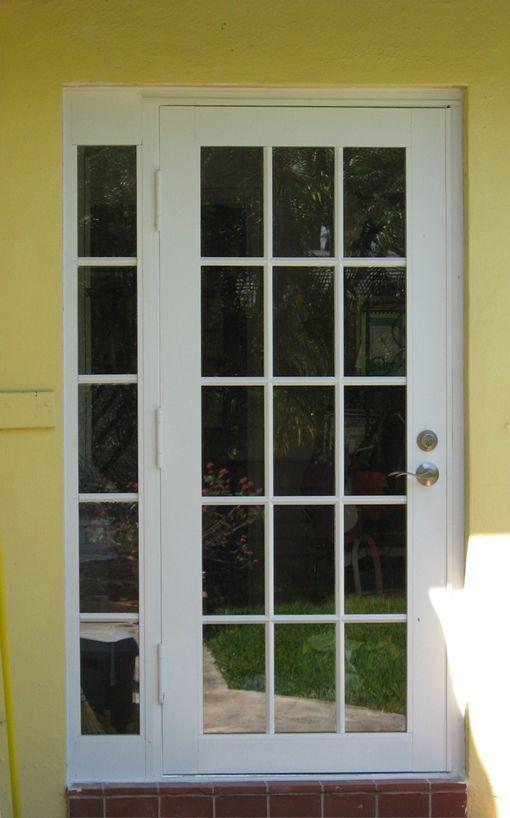 Single French Door Exterior