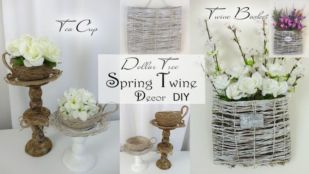 Dollar Tree Spring Decor