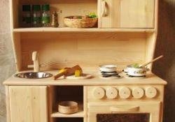 Kids Wooden Play Kitchen