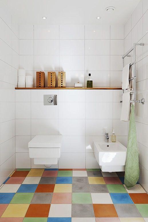 Bathroom Tiles Colour