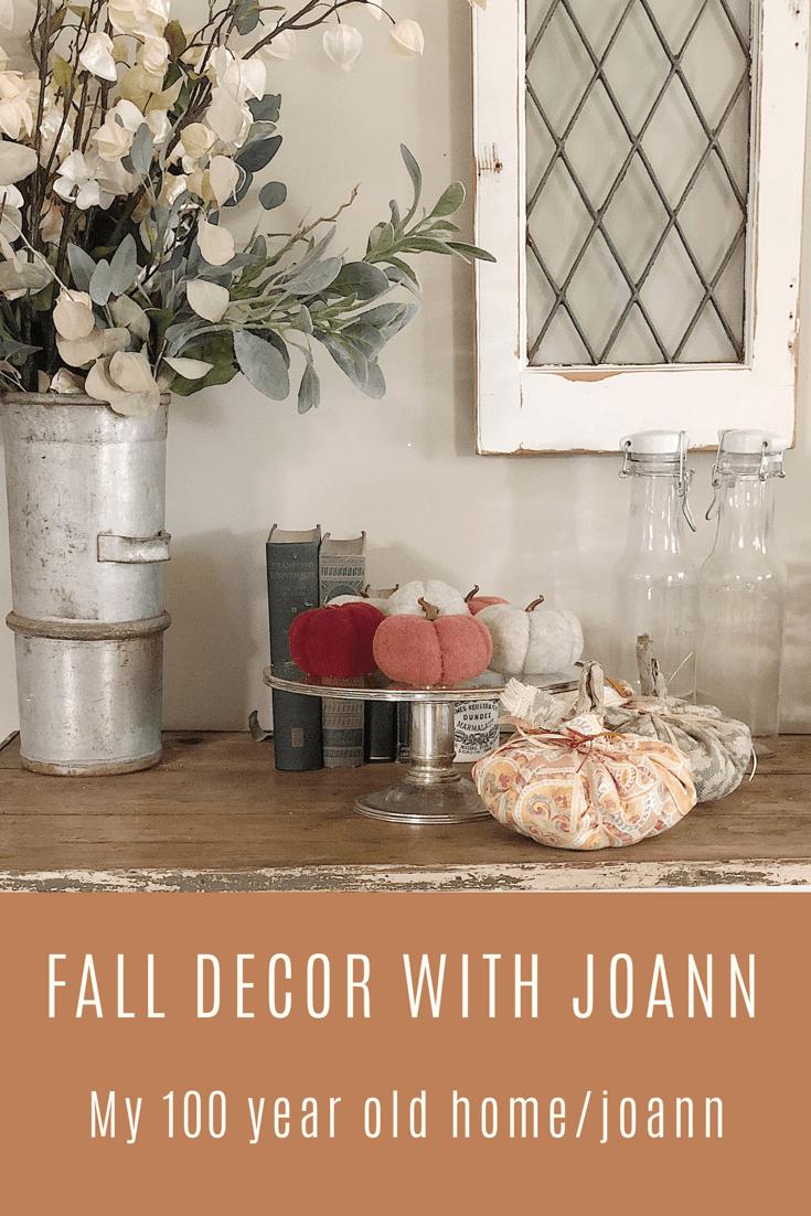 Joann Fabrics Fall Decor