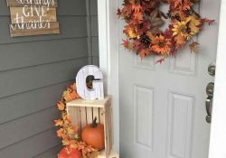 Fall Front Porch Decorating Ideas On A Budget