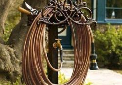 Decorative Garden Hose Storage