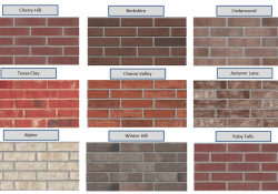 Exterior Brick And Paint Color Combinations