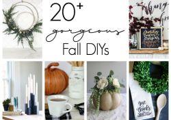 Modern Fall Decorating Ideas