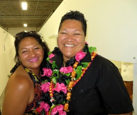 Waimihi Hotere and Margaret Aull