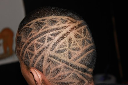 Hair design by Allen Tonkin, photo by Ema Tavola