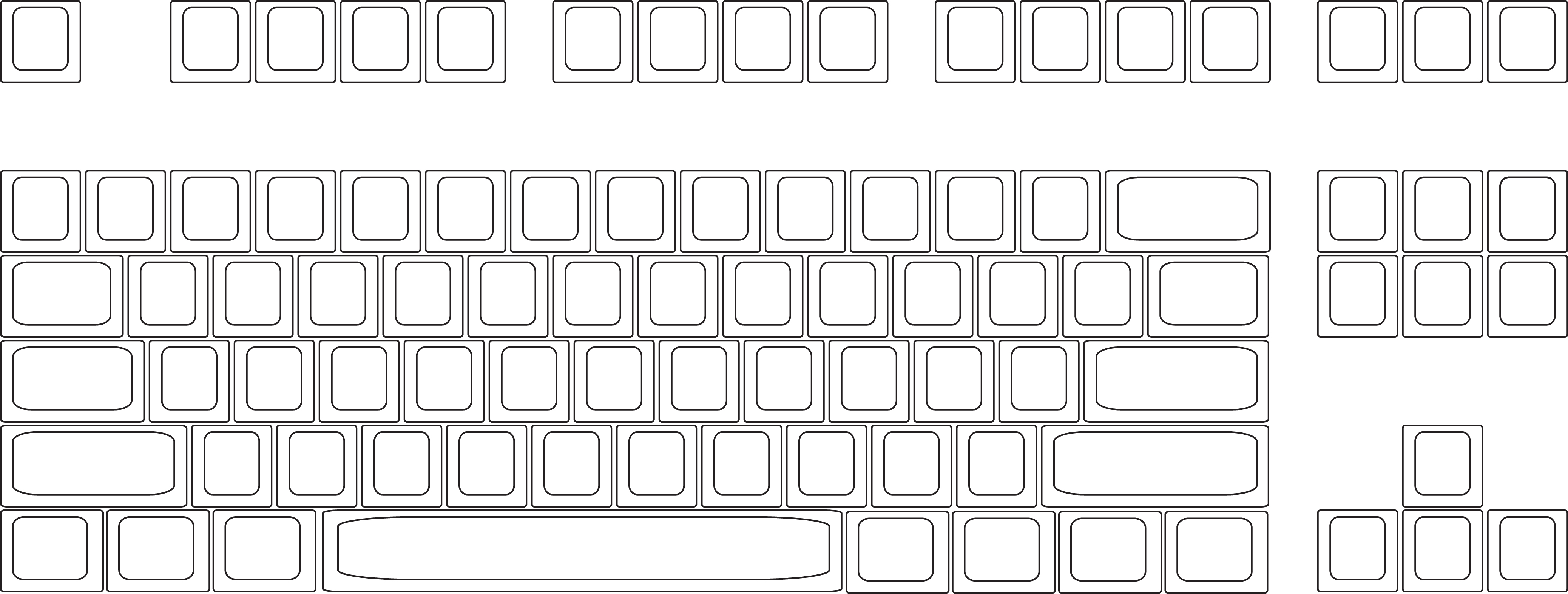 Keyboard Layout Worksheet