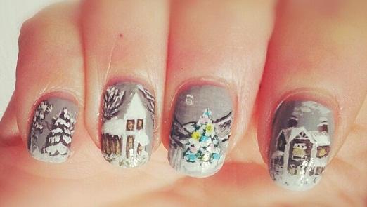 SNB #34 – Winter Nails (2/5)