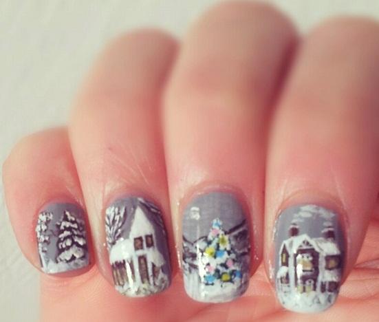 SNB #34 – Winter Nails (3/5)