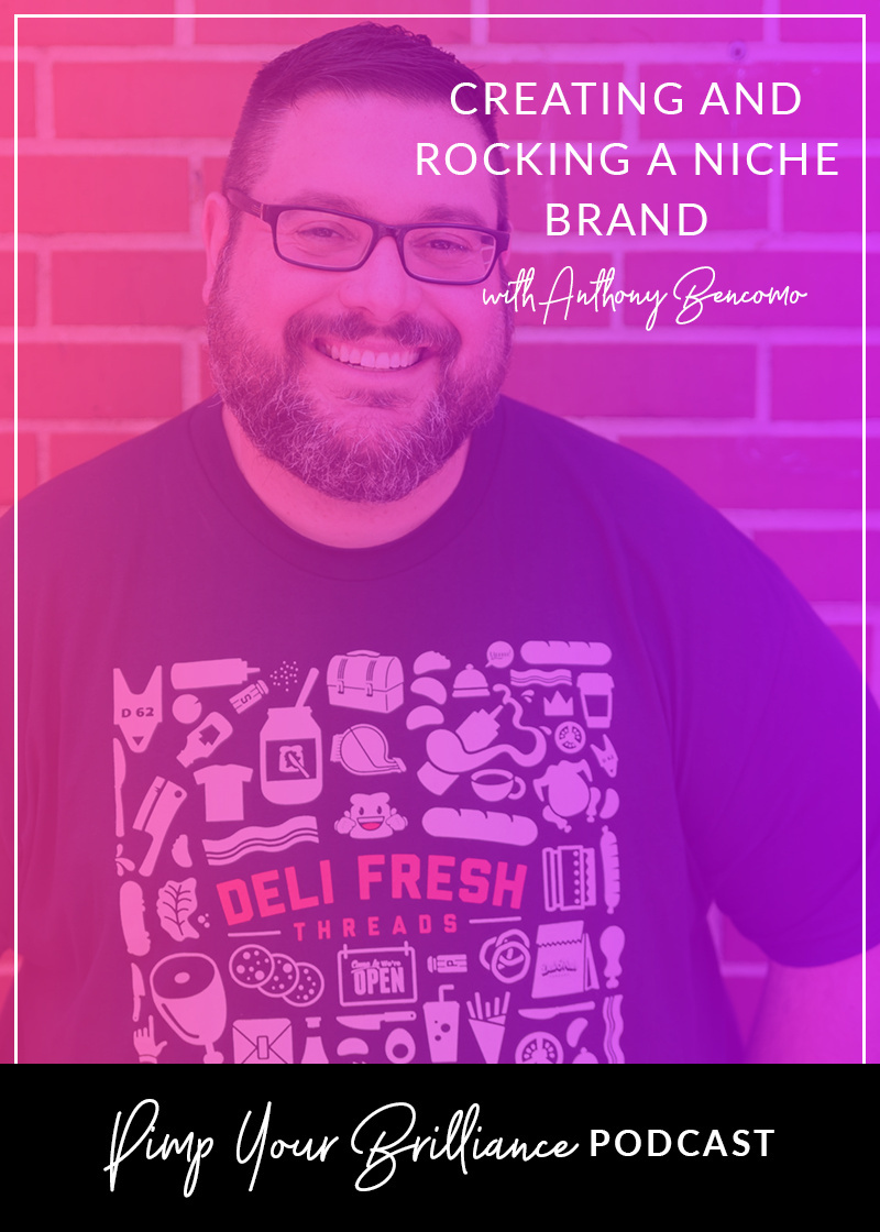 Anthony Bencomo shares how he came up with the idea to start a sandwich themed clothing line, why he runs his brand solely as a side hustle, tips for working with graphic designers and how continues to create opportunities within his brand.