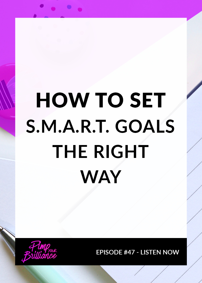 S.M.A.R.T is a simple tool to help improve your chances of succeeding in accomplishing a goal but are you overlooking an important part of the acronym?