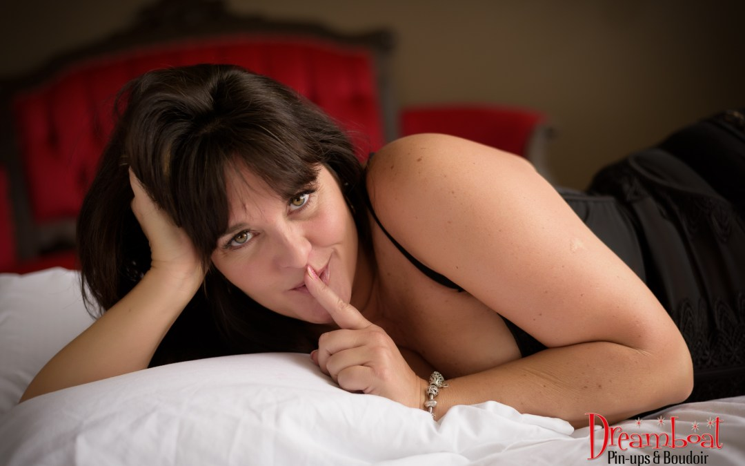 Ms C's boudoir session