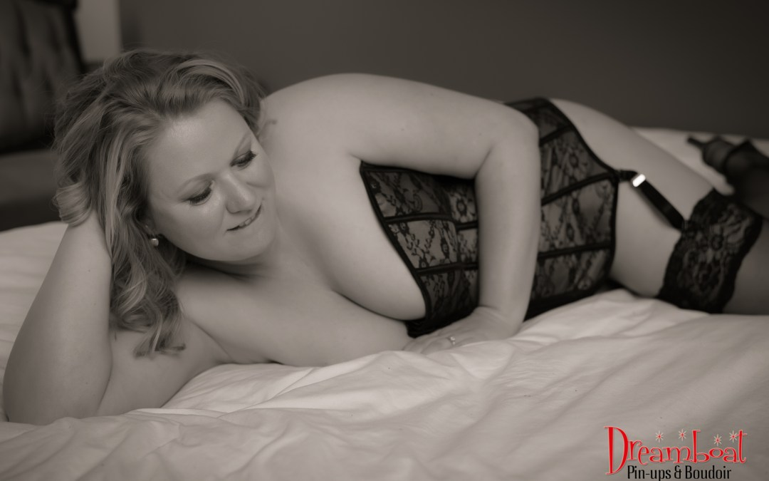 A boudoir session with Ms S!
