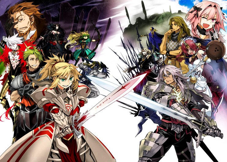 """Image result for fate apocrypha factions"""""""